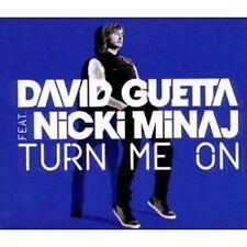 "DAVID GUETTA FEAT. NICKI MINAJ ""TURN ME ON"" SINGLE CD NEUWARE"