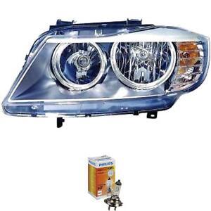 Scheinwerfer-links-fuer-BMW-3er-E90-E91-Bj-08-gt-gt-H7-H7-inkl-PHILIPS-Lampen-XTE