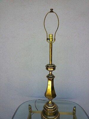 Elegant 1950s Vintage Stiffel Antique, Stiffel Brass Lamps Value