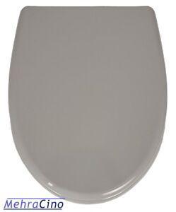 Wc Sitz Toilettendeckel Manhattan Grau Mit Absenkautomatik Und