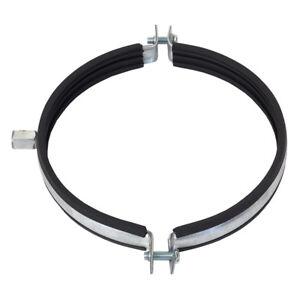 Rohrschelle-Schlauchschelle-Aluflexrohr-Schelle-mit-Gummieinlage-100-200mm