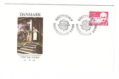 Europa Dänemark Fdc Ersttagsbrief 1980 Persönlichkeiten Mi.nr.699 Husten Heilen Und Auswurf Erleichtern Und Heiserkeit Lindern Dänemark