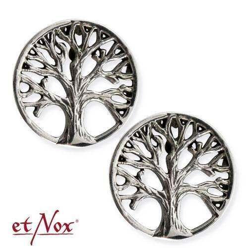 Weltenbaum Ohrstecker Lebensbaum Weltenesche Ohrringe Yggdrasil Silber O5501