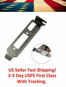 Low-Profile-Bracket-Adapter-HDMI-amp-DVI-Port-For-Half-Height-Graphics-Video-Cards