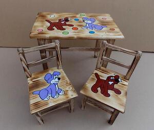 sitzgruppe f r kinderzimmer tisch 2 st hle set kinder. Black Bedroom Furniture Sets. Home Design Ideas