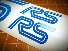 """2016 Ford Focus RS Emblems Stickers Decals """"RS"""" Logo Style 1"""