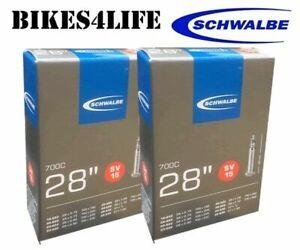 SCHWALBE 700 x 28c Inner Tube 40mm Presta French Valve SV15