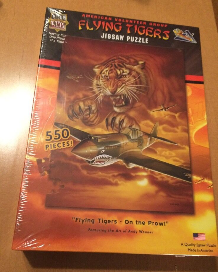 MasterPieces Flying Tigers - On The Prowl ey Webber  (See Description)  vendita online risparmia il 70%