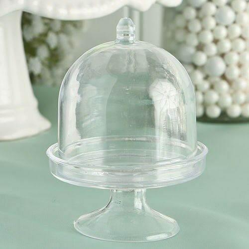 150 Mini Cake Stand Boxes Wedding Bridal Baby Shower Birthday Party Favors