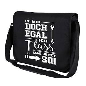 Is-039-mir-doch-egal-ich-lass-039-das-jetzt-so-Spass-Fun-Umhaengetasche-Messenger-Bag