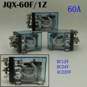 JQX-60F-60A-SPDT-Allzweck-Leistungsrelais-Hochleistungsrelais-DC12V-24V-AC220V