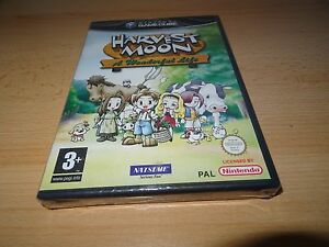 HARVEST-MOON-A-Wonderful-Life-Uk-Pal-Nintendo-GameCube-NUOVO-SIGILLATO-PAL