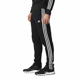 ADIDAS-Men-039-s-Essentials-3-Stripe-Tapered-Tracks-Tracksuit-Pants-Size-S-to-2XL