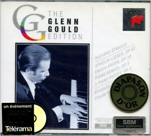 CD-NEUF-Glenn-GOULD-Edition-R-STRAUSS-diverses-oeuvres-Coffret-2CD