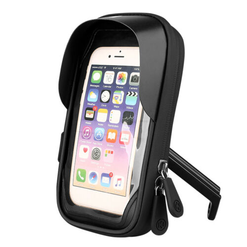 Bicycle Phone Touch Screen Bag Waterproof Handlebar Mobile Phone Stand Holder