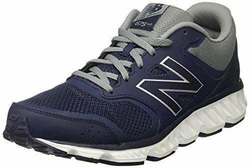 Balance Men's M675v3 Cushioning Running shoes, Navy, 11 D US