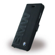 Genuine BMW Signature Collection Debossed Logo Book Case for iPhone 7
