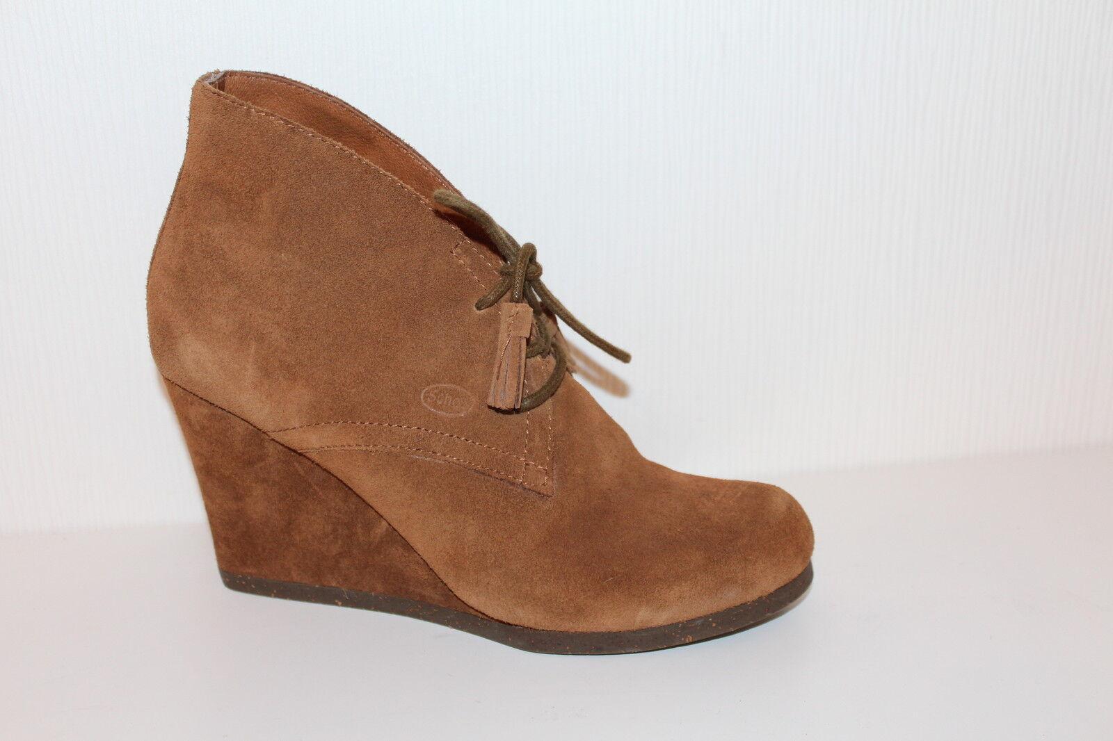 Marco Polo marc O 'Polo cuero Zapatos señora Brogues Lace up pumps 36 tacón alto