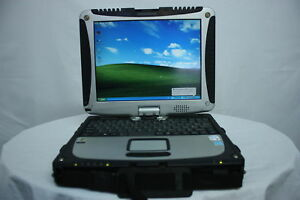 Details about Touch Tablet Laptop Panasonic Toughbook CF-19 MK1 Dual Core  2GB 80GB Windows XP