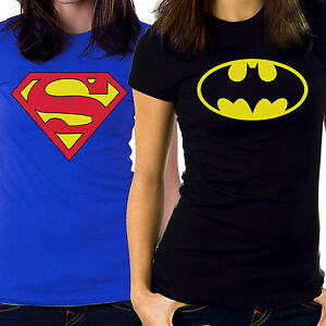 Girls-t-shirts-superman-batman-combo-tshirts