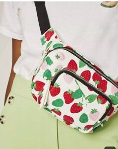 New-Topshop-SkinnyDip-London-Strawberry-Jay-Bumbag-Fanny-Pack-Purse-Pouch