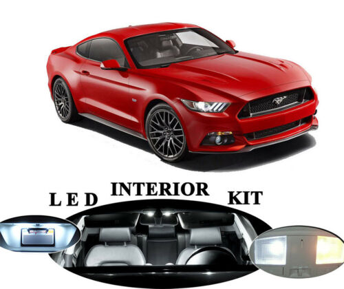 10 pieces LED Package Reverse for Ford Mustang License Plate Interior