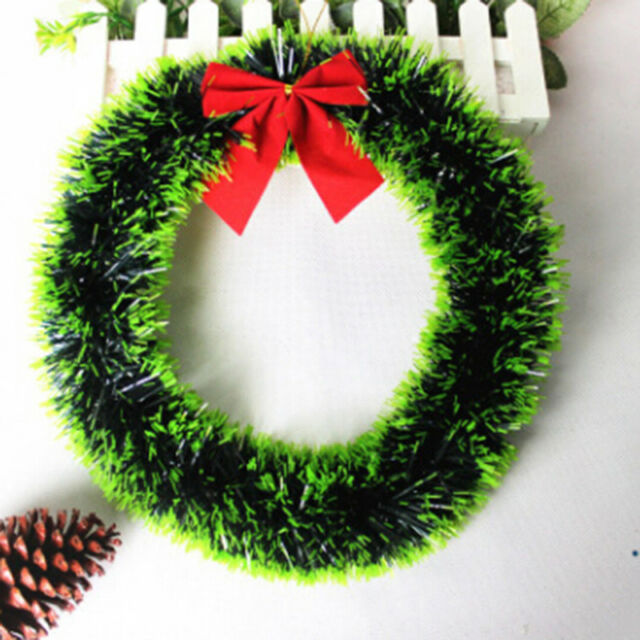 Large Wreath Garland Hang Living Room Wall Christmas Party Decoration Popular QL