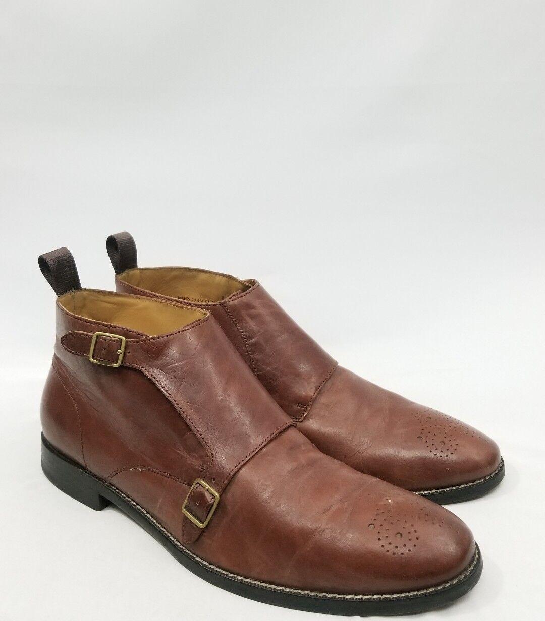 Cole HaanCambridge Monk Chukka Boot Size 11.5 C12879 RT  268