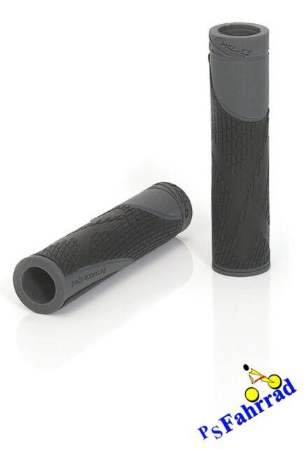 XLC Bar Grips /'Sport bo/' GR-S18 Griffe Fahrrad MTB Trekking schwarz//grau NEU