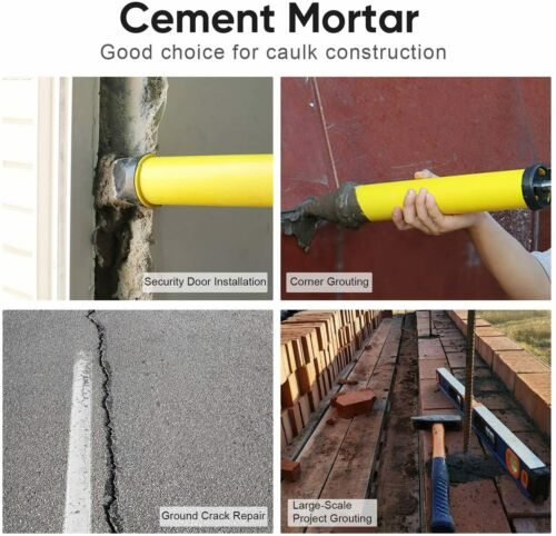 Mortar Gun for Brick Pointing Grouting Tile Cement Lime Applicator Tool UK