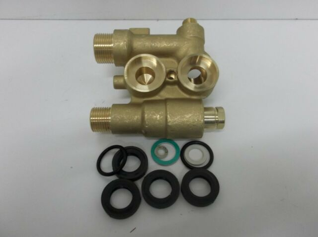 BAXI DUOTEC 2 BRASS RETURN ASSY 12 LITRE 720789601 GENUINE