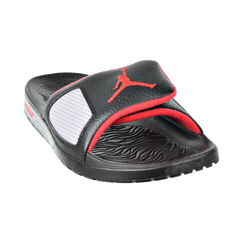 Jordan Hydro III Retro Men's Slides Black University Red 854556-003
