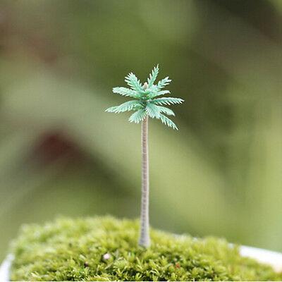 Adorno en miniatura de árbol DIY Decoración artesanal Fairy Garden Dollhouse