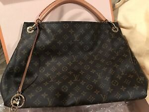 Image Is Loading Barely Used Large Louis Vuitton Bag
