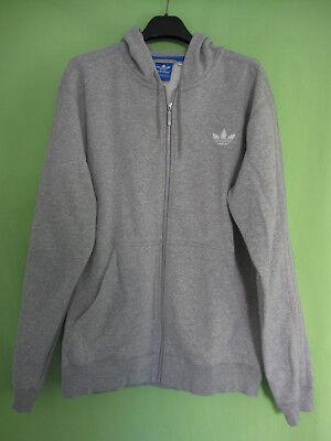 Veste Adidas à Capuche Originals Gris Jacket Homme style vintage XL | eBay