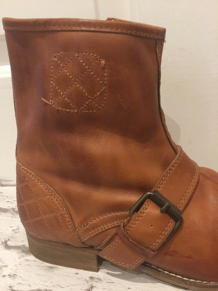 Quality H By Hudson Stiefel Gorgeous Tan VGC Men's Stiefel Uk8/7.5EU41 Zip Fastening VGC Tan eb20b7