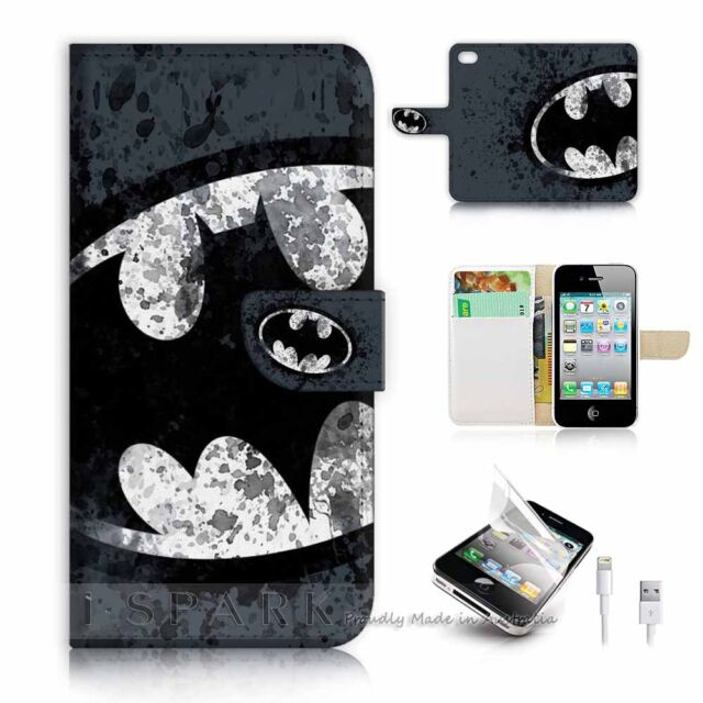( For iPhone 5C ) Flip Case Cover S8183 Batman