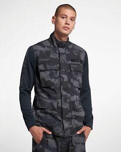 09ebcfcb8b340 Nike NSW Sportswear Camo Jacket New Camouflage Dark Blue Men 928621 ...