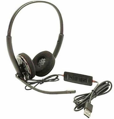 Plantronics C320M MS Stereo USB PC Headset for Microsoft Lync & MOC NO BOX