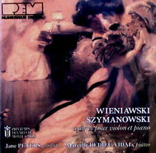 Wieniawski Szymanowski Werke Klavier & Violine Marcelle Dedieu-Vidal Jane Peters