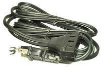 White Sewing Machine Lead Power Cord, 3 Pin Plug 660-5