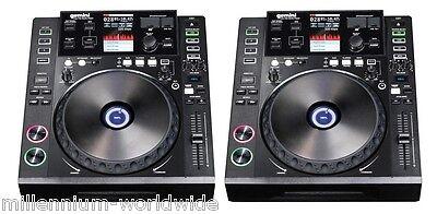 2 GEMINI CDJ 700 PRO MEDIA PLAYER - TWIN DJ SET - CD / USB / Authorized Dealer