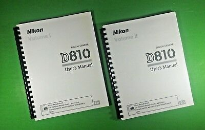 LASER 8 5X11 Nikon D750 Camera 537 Page Owners Manual Guide