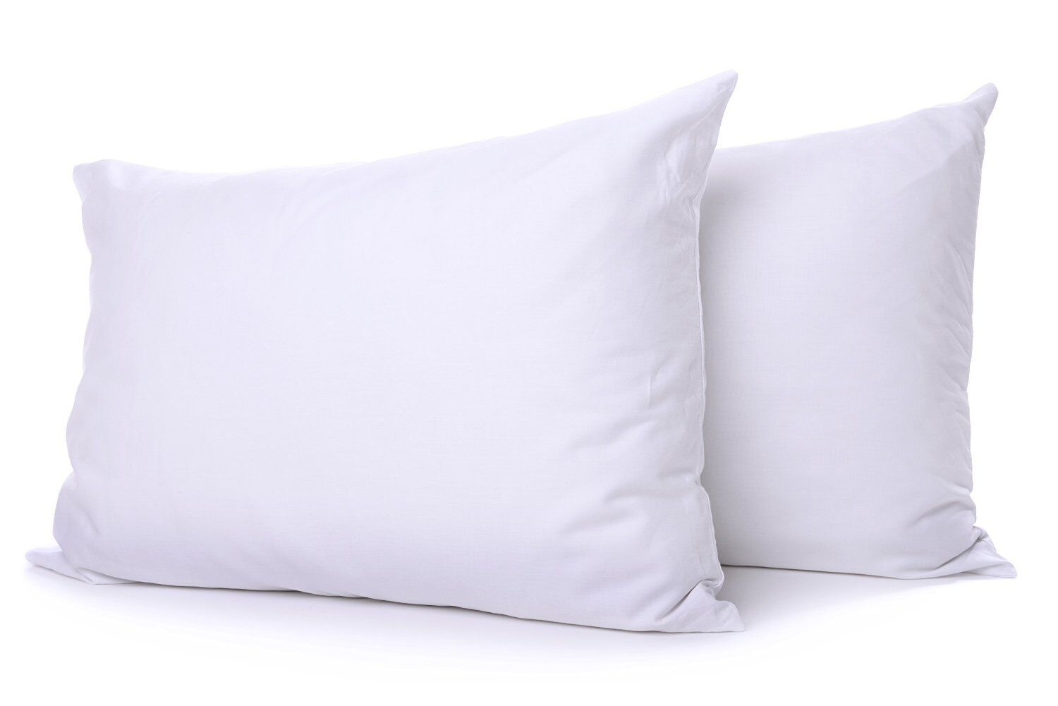 PAIR SUPER BOUNCE BACK MICROFIBRE PILLOWS LUXURY 5 STAR HOTEL QUALITY