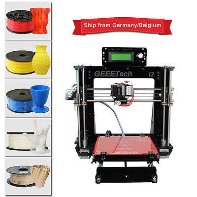 Acrílico Reprap Prusa I3 Pro B Impresora 3D MK8 LCD envío de Alemania 3D printer
