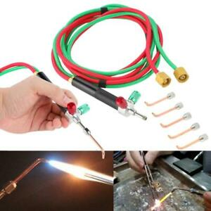 Stock Jewelry Jewelers Micro Mini Gas Little Torch Welding Soldering kit 5 tips
