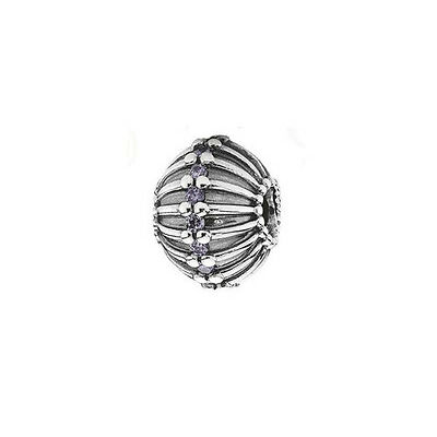 GENUINE PANDORA (S) Silver Abstract Art Deco Charm 790870ACZ FREE DELIVERY