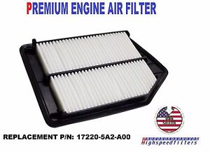 Image Is Loading Engine Air Filter For 2017 2016