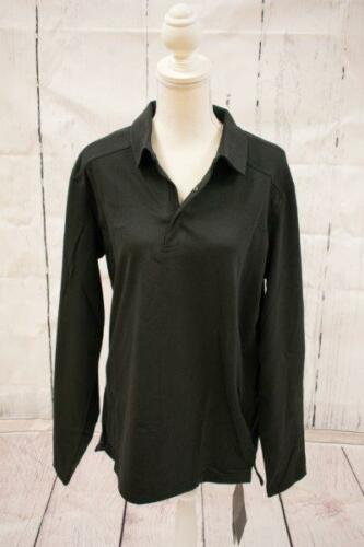 Arc/'Teryx Men/'s Captive Long Sleeve Polo 16125 Black or Triton