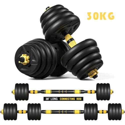 Hantel Kurzhantel Set Krafttraining Gewichte Hantelset Kurzhanteln 20 30KG ABS